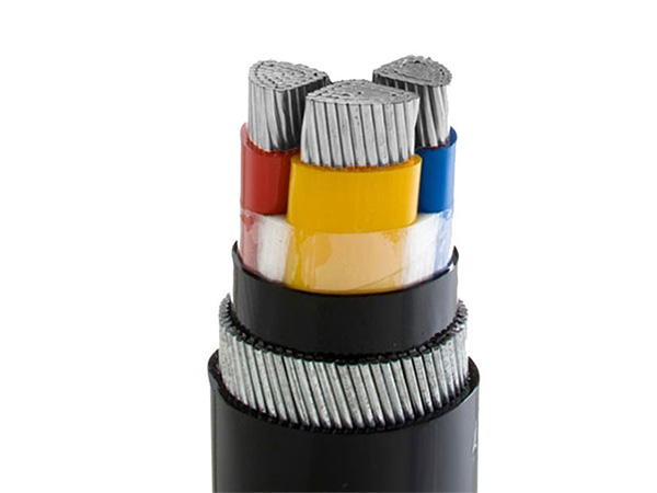 0.6/1kv Aluminum XLPE Power Cable With Steel Wire Armoured