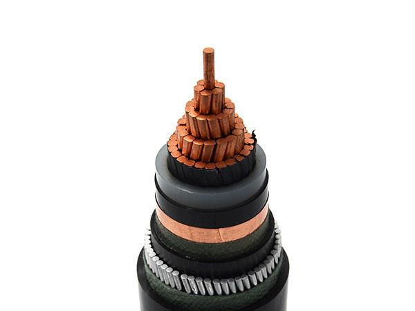 1/10kv CU/XLPE/PVC High Voltage Power Cable