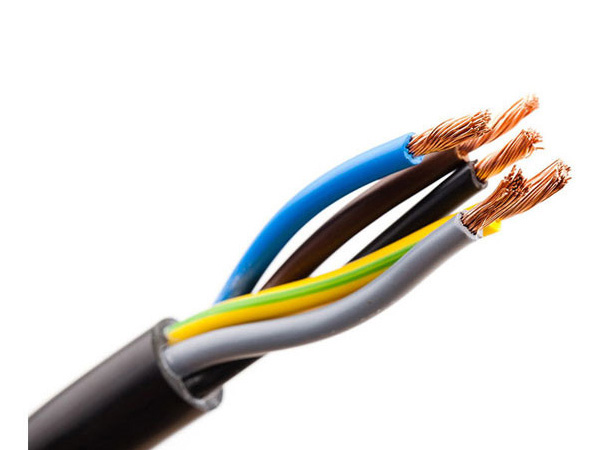 wrapped shielded cable